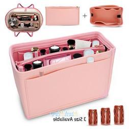 Felt Purse Handbag Organizer Insert - Multi pocket Storage T