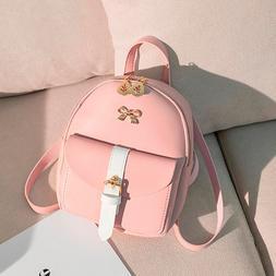 Female <font><b>Backpack</b></font> simple Women Fashion Lad