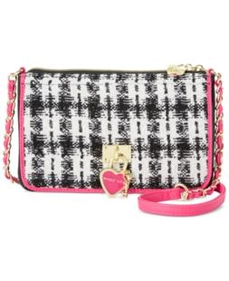 Betsey Johnson Flap Compartment Crossbody, A Macy's Exclusiv