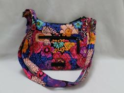 Vera Bradley FLORAL FIESTA MINI ANDI  CROSSBODY PURSE   New