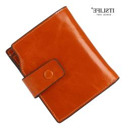 <font><b>Itslife</b></font> Genuine Leather Women Wallets RF