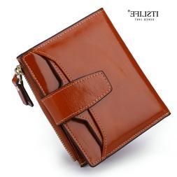 <font><b>Itslife</b></font> Genuine Leather Women Wallet Fem