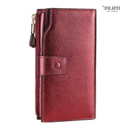 <font><b>ITSLIFE</b></font> New Color Women Genuine Leather