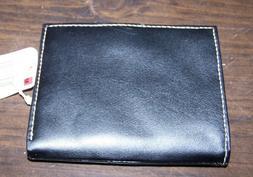 MUNDI Framed French Purse - Leather & Man Made - BLACK - NWT