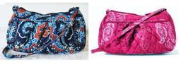 Vera Bradley Frannie  Handbag Purse Crossbody assorted New w