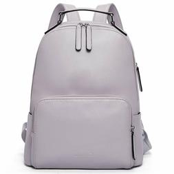 Genuine Leather Backpack Purse for Women Travel Large Colleg