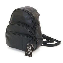 Genuine Leather Backpack Purse Sling Bag Back Pack Shoulder