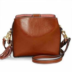Genuine Leather Bags for Women Handbags Shoulder Crossbody M