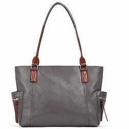 Genuine Leather Purses and Handbags for Women Designer Large