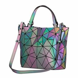 Geometric Luminesk Purse and Handbag for Women Flash Luminou