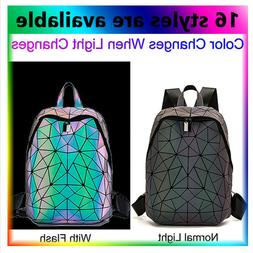 ×Geometric Women Tote Bag Holographich Purses and Handbags