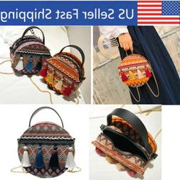 Gifts Under 20 Dollars Small Round Bags Crossbody Shoulder w