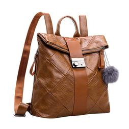 Girl Lady Women Backpack Leather Purse Rucksack Travel Shoul