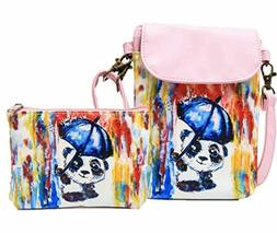 Girl's Purse and Phone Bag With Matching Coin Purse