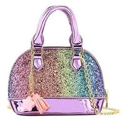 Glitter Toddler Purse For Little Girls Mini Kids Crossbody H