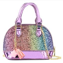 Glitter Toddler Purse For Little Girls Mini Kids Crossbody H