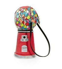 Betsey Johnson Gumball Machine Handbag Purse Novelty Candy b