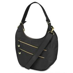 Travelon Hack-Proof Convertible Hobo Bag Purse Handbag RFID