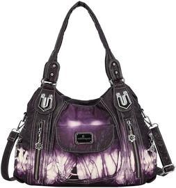 Handbag Hobo Women Handbag Roomy Multiple Pockets Street lad