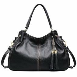 ZOOLER Handbags For Women Large Leather Purse Crossbody Bag