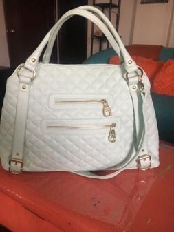 Handbags Purses Steve Madden Large Cross Body Satchel Mint C