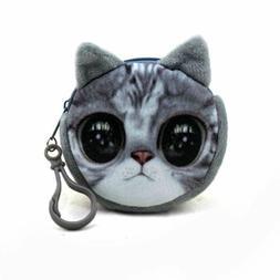 Holder Mini Zipper Bag Money Bags Key Chain Coin Purses For