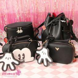 Hot Cute Mickey Mouse Handbag Purse For Girls Children Women