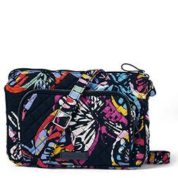 Vera Bradley Iconic RFID Little Hipster, Signature Cotton, B