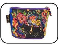 Laurel Burch Karly's Cat Mini Organizer Bag Makeup Art Craft