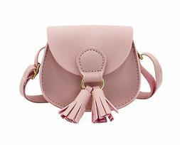 Kids Girls Toddler Mini Shoulder Purse Crossbody Bag with Ta