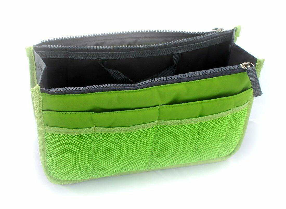 2 X Purse Organizer Insert Pack Travel Set Dual GIFT