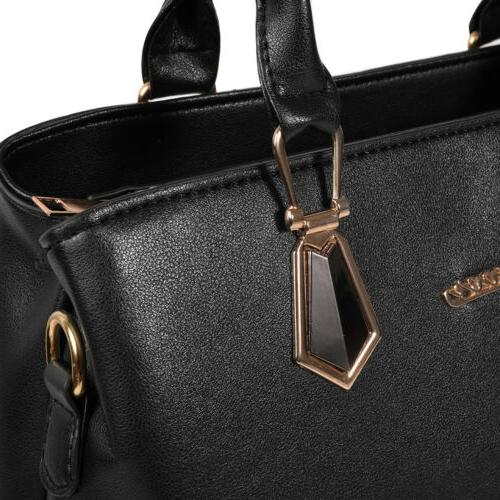 2set Women's Handbag Shoulder Capacity Tote Messenger