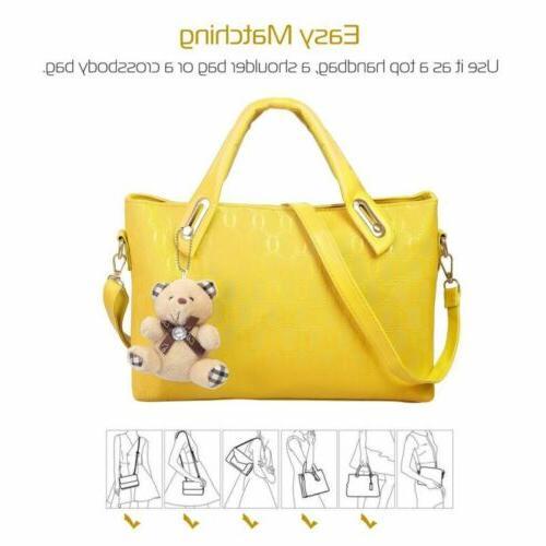 4Pcs/Set Women Handbags Messenger Tote
