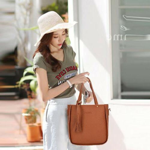 4PCS/Set Lady Shoulder Bag Clutch Coin