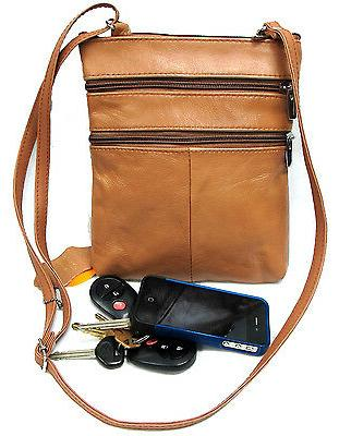 5 zipper pocket genuine leather every day