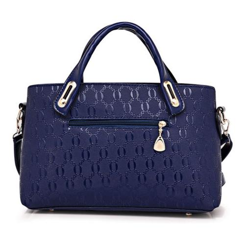 4Pcs/Set Leather Handbags Tote Satchel