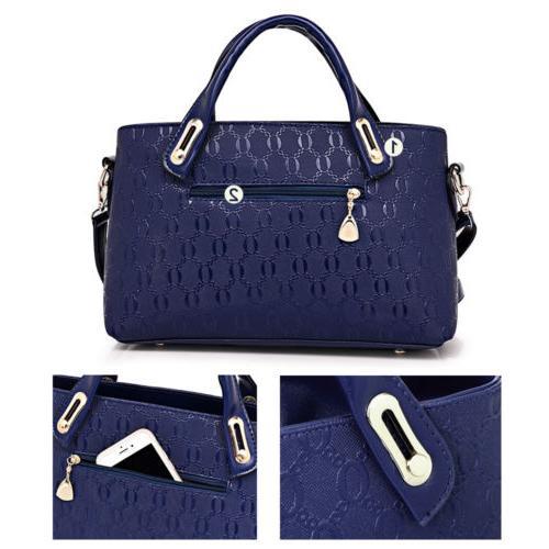 4pcs/set Women Handbag Shoulder Satchel
