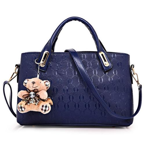 4Pcs/Set Women Handbags Messenger Tote Satchel