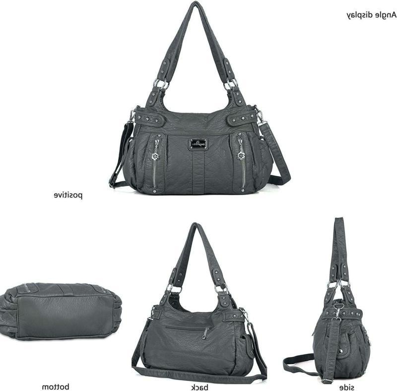 Angelkiss Handbags for Soft Washed Cro