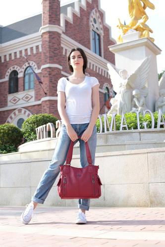 Angelkiss Handbags With Two Pocket