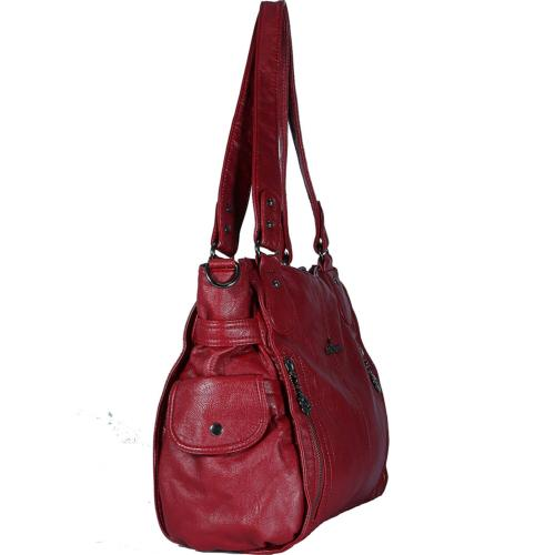 Angelkiss Large and Handbags With Two Pocket 1193