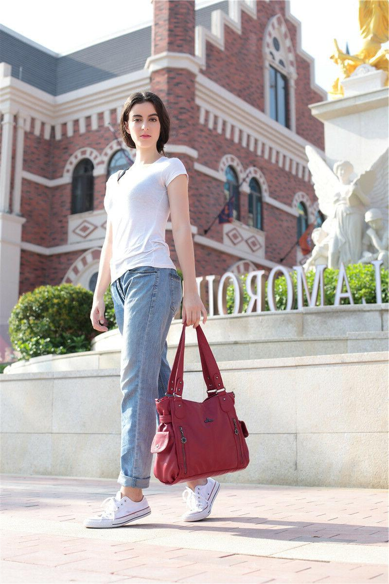 Angelkiss Tote bag Handbag Soft Leather
