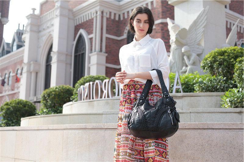 Angelkiss Women Top Satchel Handbags Shoulder Messenger