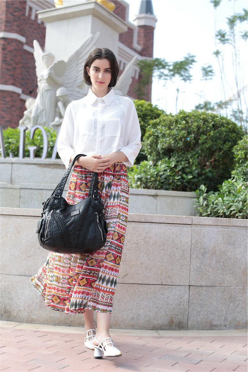 Angelkiss Women Satchel Handbags Shoulder Bags Messenger Purses