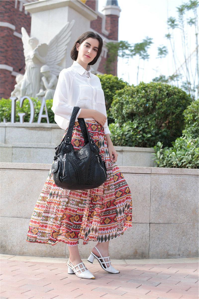 Angelkiss Women Satchel Handbags Shoulder Messenger