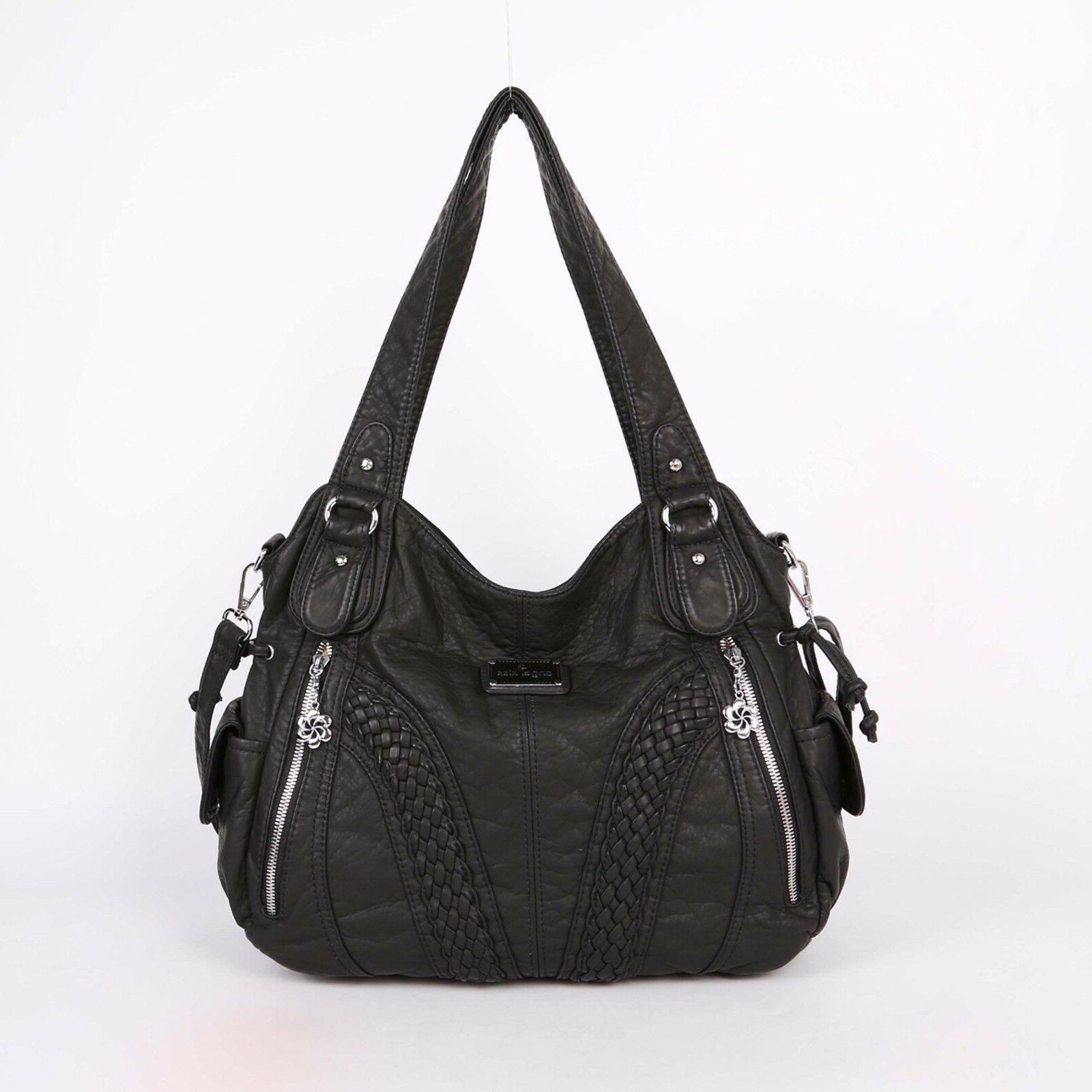 angelkiss women top handle satchel handbags shoulder