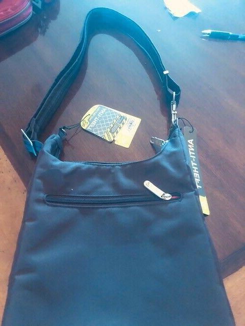 anti theft essential messenger bag
