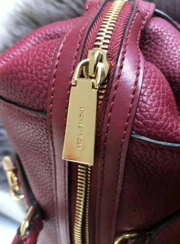 AUTHENTIC MICHEAL KORS MULBERRY SATCHEL LEATHER