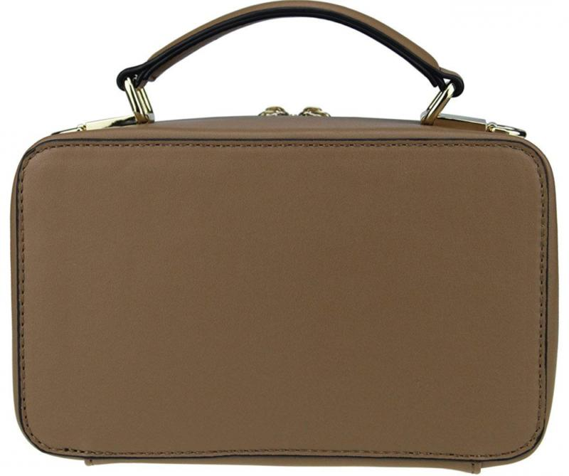 B BRENTANO Vegan Medium Radio Purse with