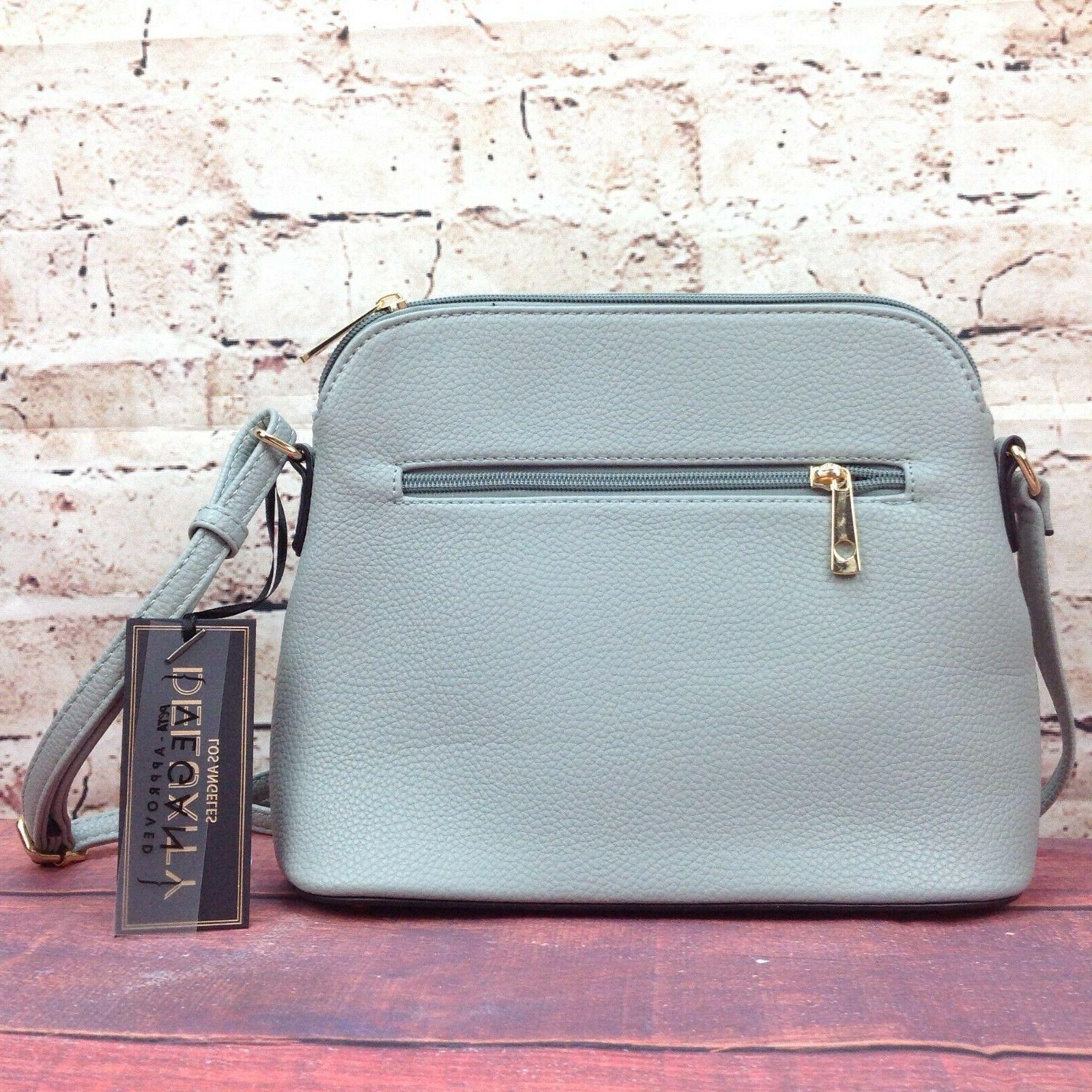 Deluxity Bella Purse Zipper Pocket Bag